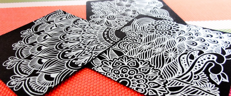 zentangle how to draw