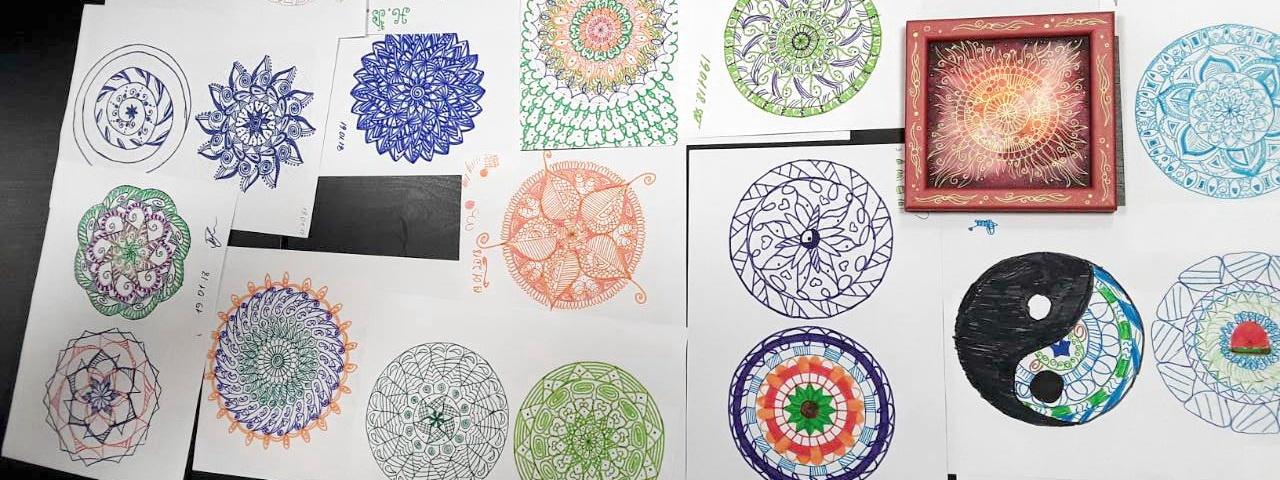 творческая встреча чарующая мандала и другие техники антистресс-рисования
