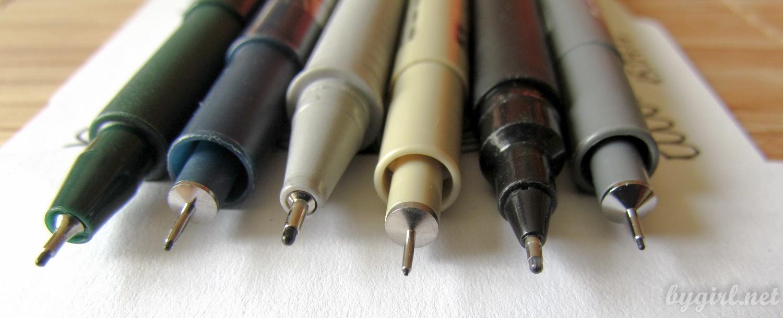 Лайнеры для рисования: выбираем, рисуем, храним