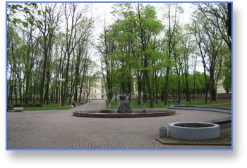 Минск, парк, паниковка